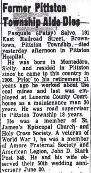 Excerpt from obituary, published June 24, 1969.