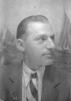 Sam Stillman, early 1930s. Photo provided by family.