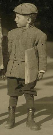 Sam Stillman, 1913. Photo by Lewis Hine.