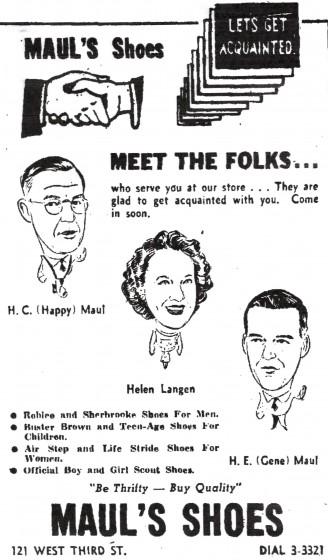 Alton Telegraph, August 5, 1953.