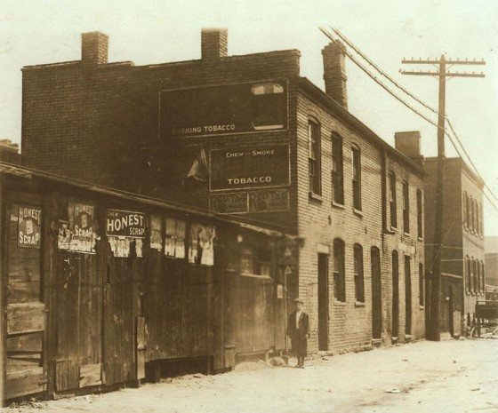 Skeeter's Branch was one of many branches where the St. Louis Times was distributed to newsboys.
