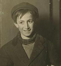William Tobias, 1909. Photo by Lewis Hine.