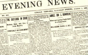 researching old newspaper articles Ipl2: information you can trust features a searchable, subject-categorized directory of authoritative websites links to online texts, newspapers, and magazines and the ask an ipl2 librarian online reference service.