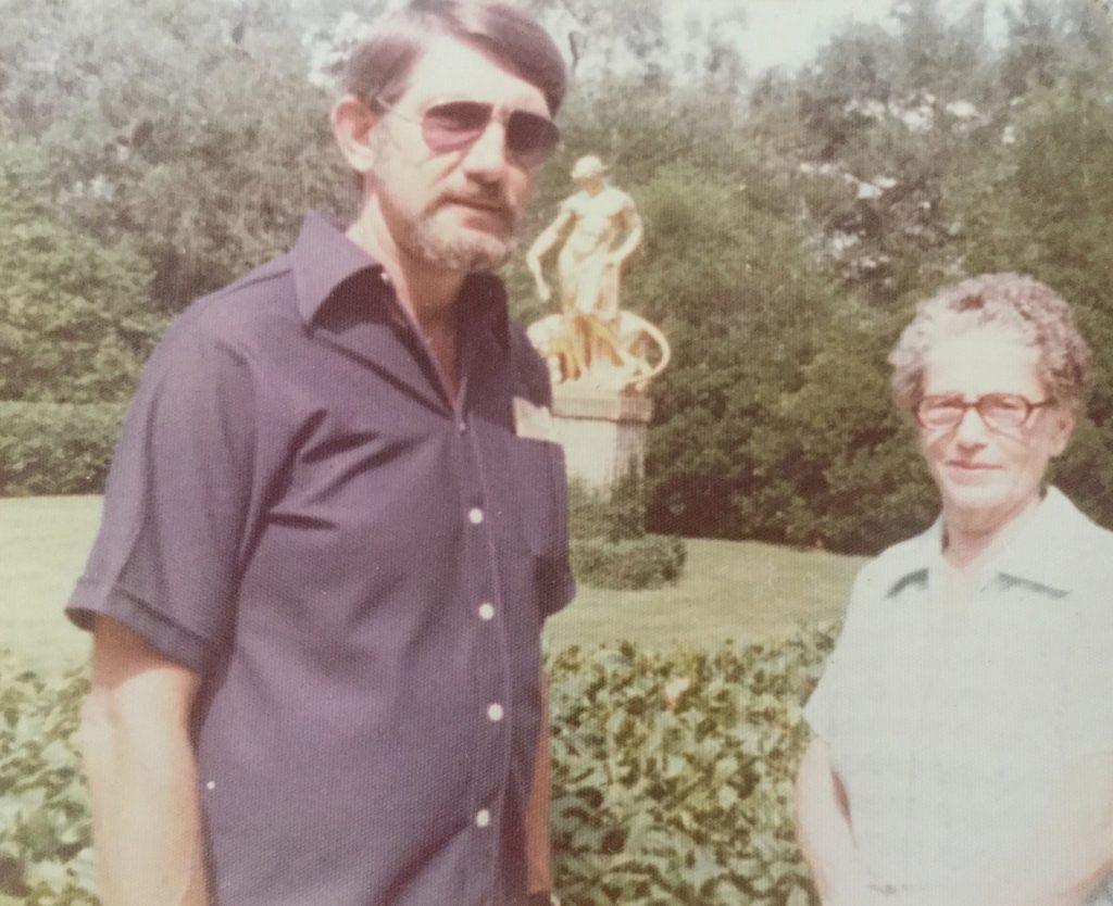 Robert and Sadie, 1972.
