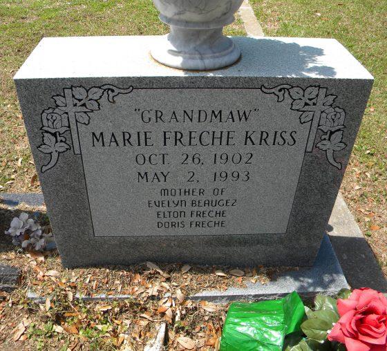 MarieKrissGravestone